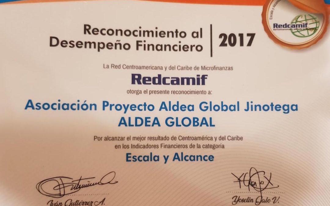 Aldea Global gana categoría Escala y Alcance de Microfinanzas en Centroamérica y el Caribe